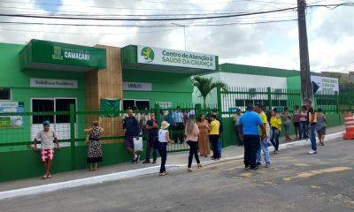 Inaugurado: Centro de Atenção à Saúde da Criança de Camaçari atenderá 4,5 mil pacientes por mês