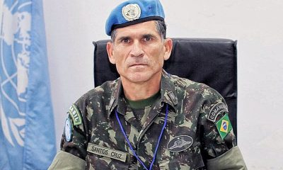 General Santos Cruz é escolhido novo secretário de governo
