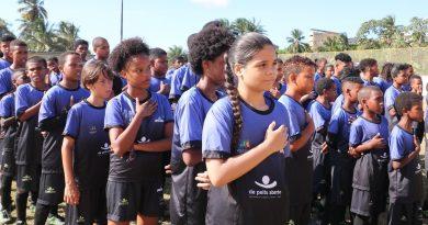 'De Peito Aberto': projeto beneficia 100 crianças e jovens em Lauro de Freitas