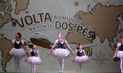 """Espetáculo de dança """"Volta ao Mundo na Ponta dos Pés"""" será apresentado no TCS"""