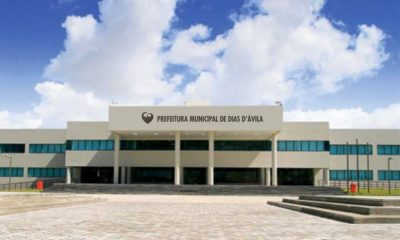 Prefeitura de Dias d'Ávila irá abrir processo seletivo para 412 vagas com salário de até R$ 2.406,80