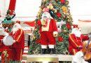 Papai Noel desfila por Camaçari e abre programação de Natal do Boulevard Shopping