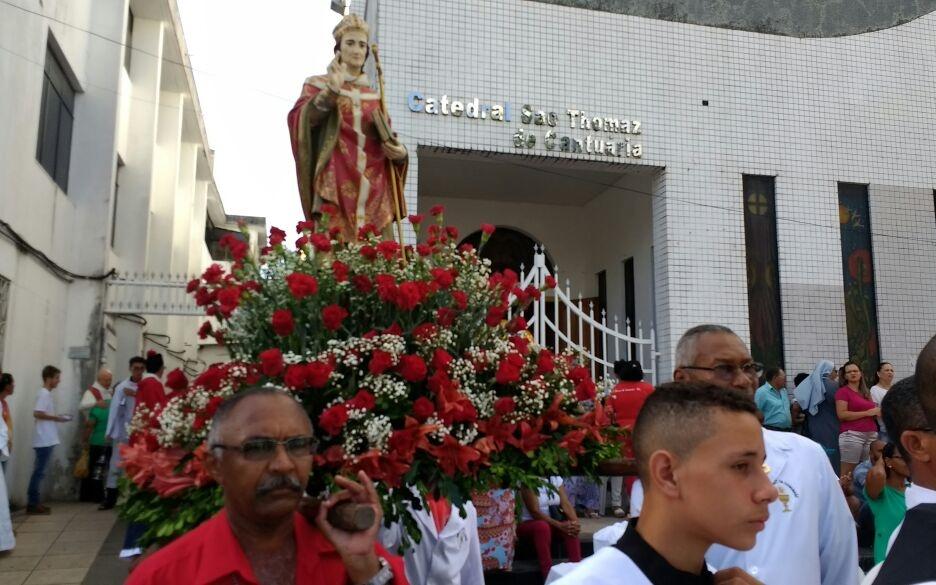 São Thomaz de Cantuária: Diocese inicia festejos ao padroeiro de Camaçari no domingo