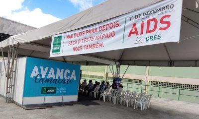 HIV-Aids: Sesau realiza mais de mil testes rápidos na Feira de Camaçari