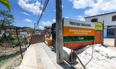 Obras de pontes nas ruas Abaré e do Telégrafo devem ser concluídas no primeiro semestre de 2019