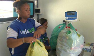Em Camaçari, Projeto Vale Luz troca materiais recicláveis por descontos na conta de energia