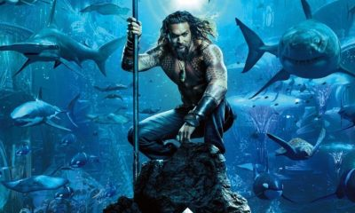 Na pele de Jason Momoa, Aquaman estreia hoje nos cinemas