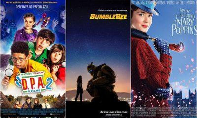 """Cinema: """"Bumblebee"""", """"O Retorno de Mary Poppins"""" e """"D.P.A. 2"""" são as estreias da semana"""
