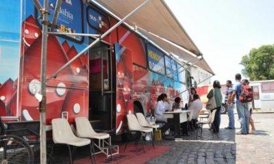 Hemóveis realizam coleta de sangue na última semana do ano