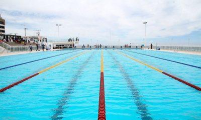 Arena Aquática abre inscrições para aulas gratuitas de natação nesta segunda; são 720 vagas
