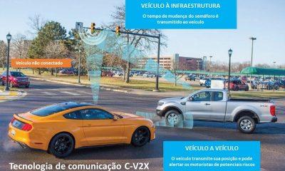 Ford anuncia lançamento de carros com tecnologia C-V2X em 2022