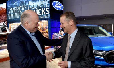 Volkswagen e Ford firmam aliança global