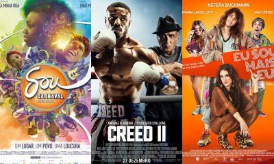 Três filmes entram em cartaz hoje no Cinemark Camaçari