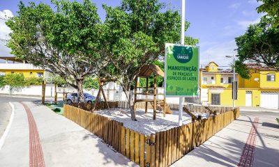 Praça São José será reinaugurada no Alto da Cruz nesta quarta