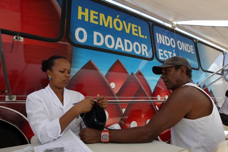 Hemóvel realiza atendimento em Dias d'Ávila até sexta-feira