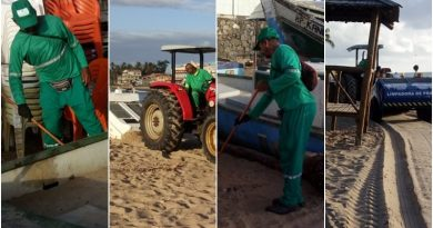 Camaçari: operação especial garante praias limpas