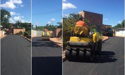 Camaçari: ruas do Parque Satélite são requalificadas