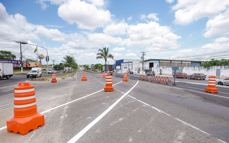 Trânsito na Avenida Jorge Amado sofre alterações