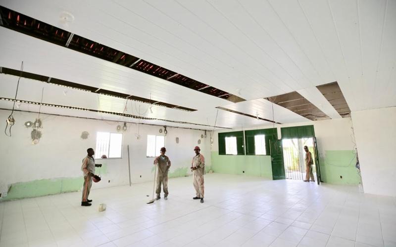 CRAS do Burissatuba e de Vila de Abrantes estão com 60% das obras concluídas