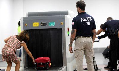 Voo Legal: Polícia Civil deflagra operação de combate ao tráfico de drogas no aeroporto de Salvador