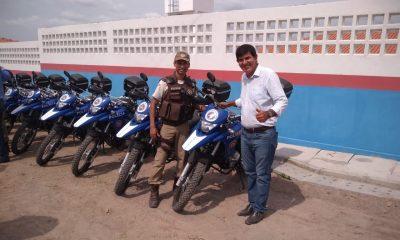 Dias d'Ávila: 36ª CIPM tem policiamento reforçado com duas novas motocicletas