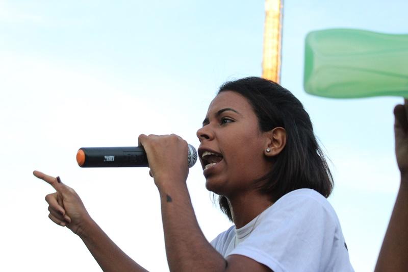 Estudantes da Famec fazem manifestação e exigem justiça para caso Eva Luana