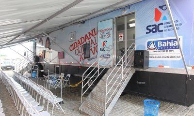 SAC Móvel estará em Dias d'Ávila na próxima semana