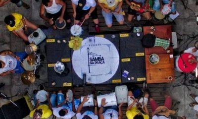 Projeto Samba na Praça recebe a banda Samba da Minha Rua no dia 31 de agosto