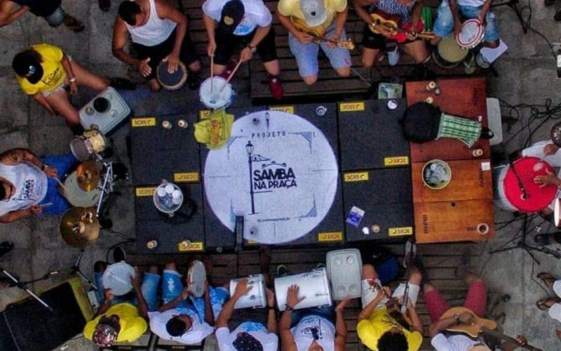 Edição especial do Samba na Praça comemora um ano do projeto