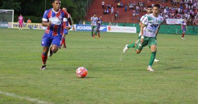 Bahia assume liderança do Campeonato Baiano
