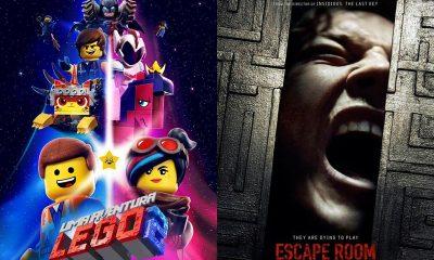 """Cinema: """"Uma Aventura Lego 2"""" e """"Escape Room"""" são as estreias da semana"""