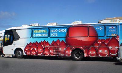 Salvador, São Francisco do Conde e Santa Terezinha recebem Hemóvel até sexta-feira