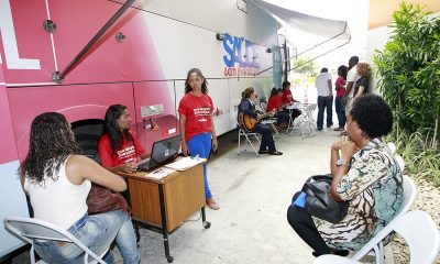 Hemóveis atendem essa semana na UFBA e em Lauro de Freitas