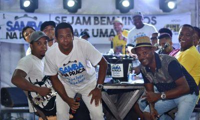 Samba na Praça faz homenagem aos pais neste fim de semana