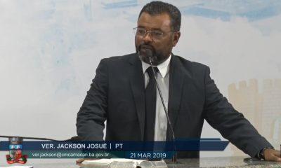 Vereador Jackson Josué pede criação de Secretaria Municipal de Segurança Pública