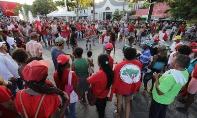 Em defesa de Lula, MST marcha de Camaçari a Salvador