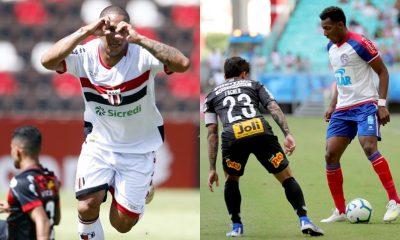 Confira os detalhes das estreias de Bahia e Vitória no Campeonato Brasileiro