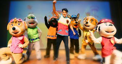 Teatro Cidade do Saber recebe o espetáculo infantil Patrulha Canina no sábado