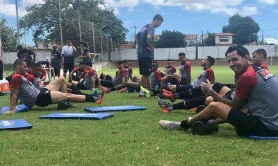 Vitória encerra preparação para enfrentar o Fortaleza pela Copa do Nordeste