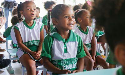 Escolas da rede pública municipal de Camaçari iniciam ano letivo de 2019 na segunda-feira