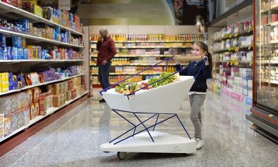 Ford cria carrinho de supermercado que freia automaticamente para evitar acidentes com crianças