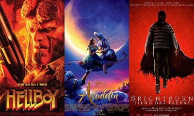 Três filmes entram na grade de programação do Cinemark Camaçari nesta quinta