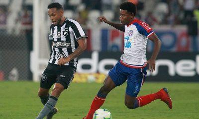 Fora de casa, Bahia sofre primeira derrota contra o Botafogo