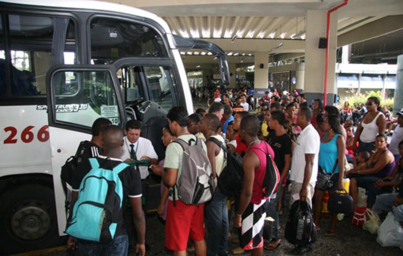 Saiba o que é permitido nas bagagens durante viagens de ônibus