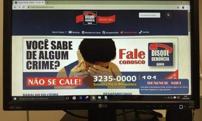 Disque-Denúncia passa a oferecer serviço online