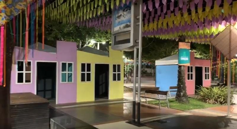 Forró da Praça Abrantes vai transformar local em vila junina