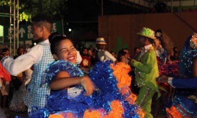 Quadrilhas Juninas encantam o público no primeiro dia do São Pedro de Dias d'Ávila