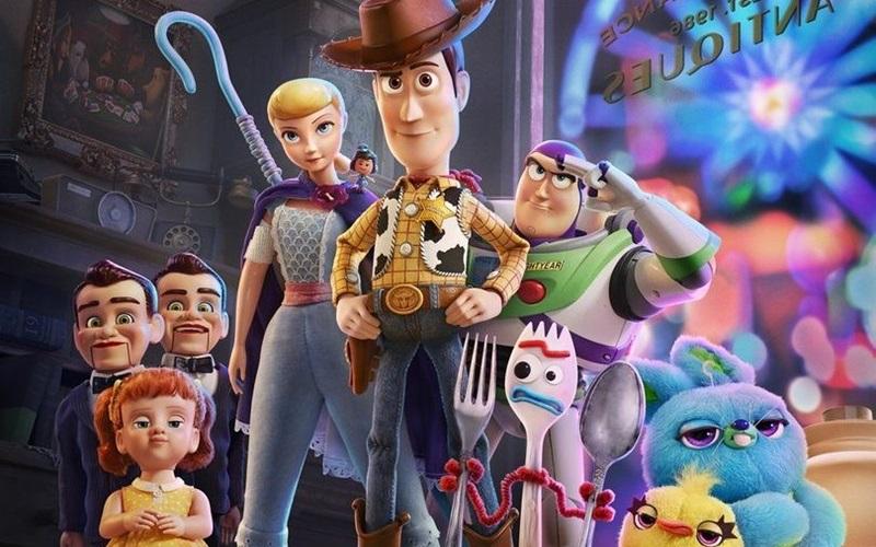 Último filme da sequência, Toy Story 4 chega ao Cinemark Camaçari