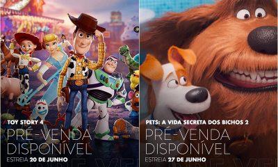 Cinemark abre pré-venda de 'Toy Story 4' e 'Pets 2'