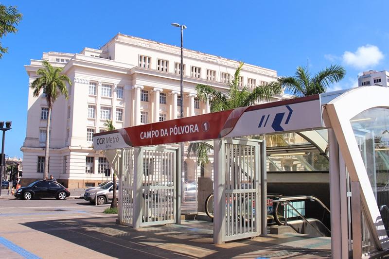 Copa América: metrô funcionará em horário especialem dias de jogos na Fonte Nova